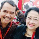 Ketua PP Bamusi Faozan Amar berfoto bersama Ketum DPP PDIP Megawati Soekarnoputri - ist
