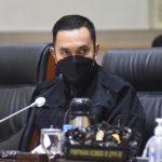 Wakil Ketua Komisi III DPR RI Ahmad Sahroni - dok DPR