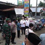 Bupati Agung dan Wabup Mansur dalam kunjungannya di Kecamatan Ulujami