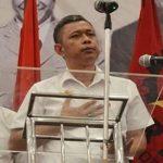 Ketua Umum Partai Rakyat Demokratik (PRD) Agus Jabo Priyono